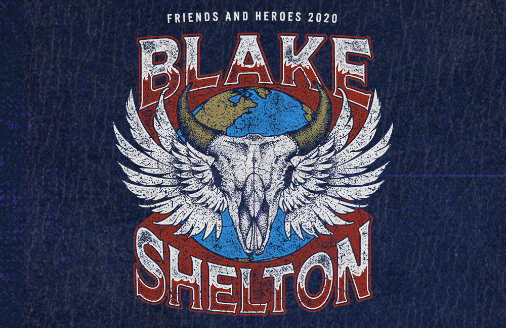 "Blake Shelton Readies ""Friends and Heroes"" For 2020 – Coming to the CHI Health Center"