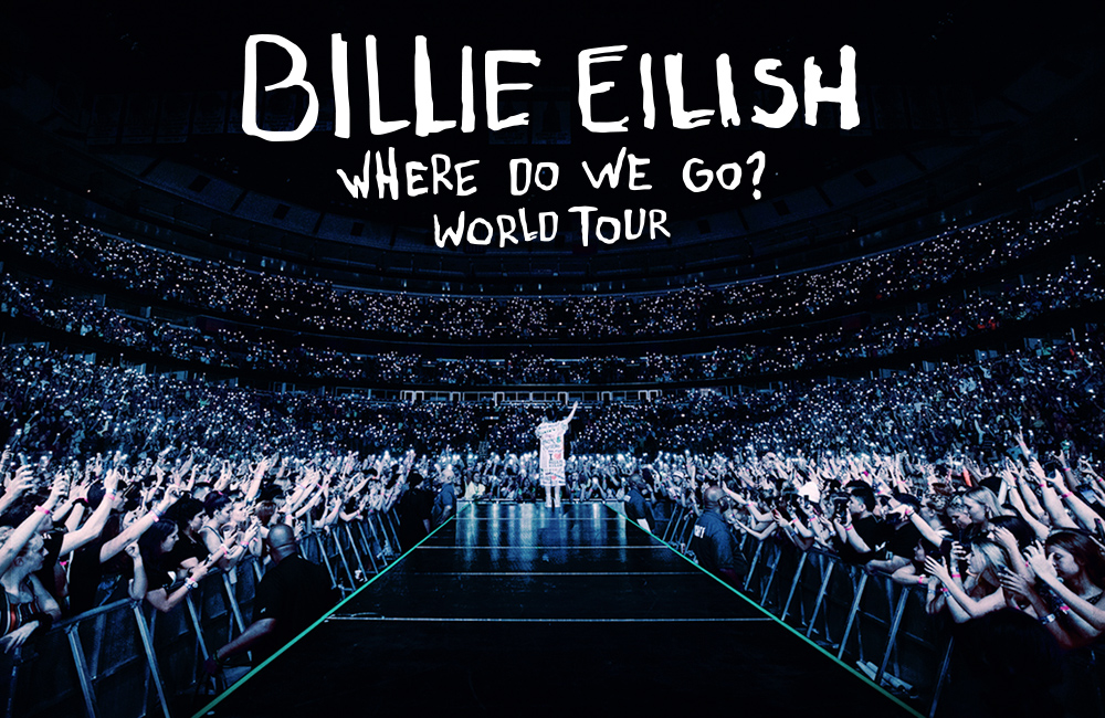 Billie Eilish Announces 2020 Arena WHERE DO WE GO? WORLD TOUR